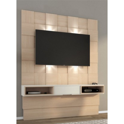 Painel TB125L Para Tv com Led Natural com Off White